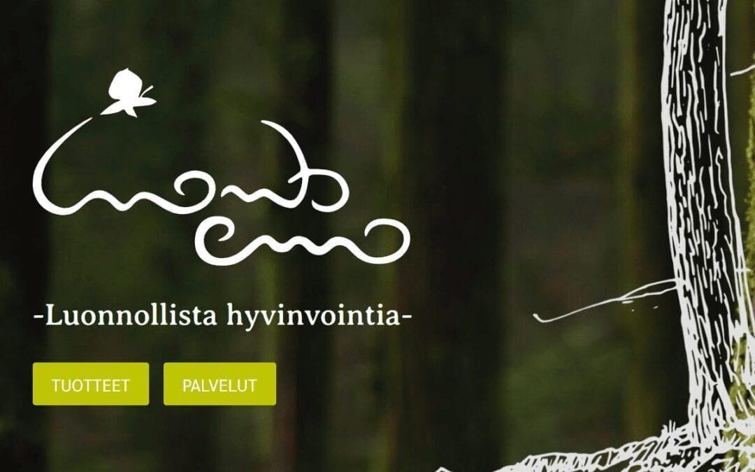 Luontoemo's website has been redesigned.